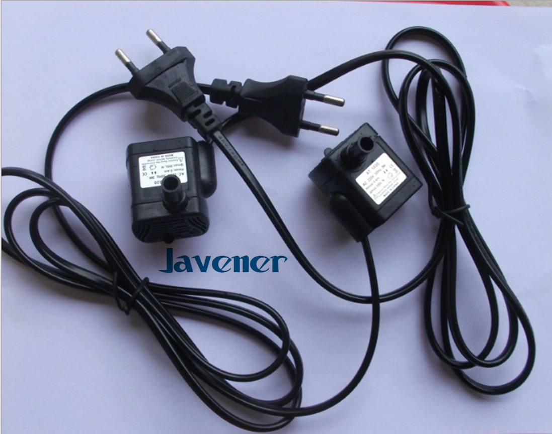 220V-240V AC Electric Mini Submersible Pump Brushless Motor No Jam Pumnp Aquarium Fish Tank 50Hz 3W 200L/H
