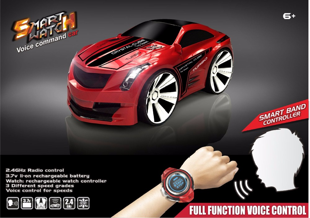 Electric Car Toys Red Blue Intelligent voice control car 2.4G 6ch voice control racing car vehicle with watch remote vs 2107048Electric Car Toys Red Blue Intelligent voice control car 2.4G 6ch voice control racing car vehicle with watch remote vs 2107048
