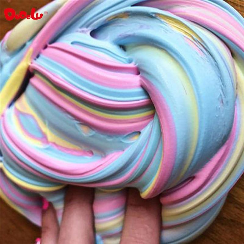 NUEVO! Pensamiento Putty Multicolor Fluffy Foam Clay Slime Para - Educación y entrenamiento - foto 1
