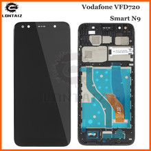 AAA quality LCD For Vodafone VFD720 VFD 720 Smart N9 LTE LCD Display Touch panel Screen front glass Assembly Repair Parts