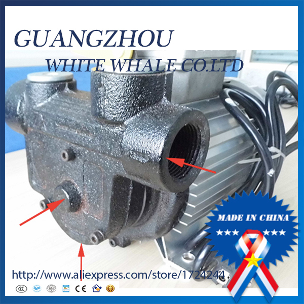 10% off hot sale 550w 20m 60l/min AC220v 50hz Oil Pump