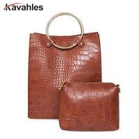 Fashion Handbags Women Famous Brands Bag Women Leather Handbags Luxury Ladies Clutch Purse Shoulder Bags Crocodile
