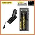 Li-ion Carregador de Bateria Universal Nitecore UM10 Display LCD Carregadores USB para 18650 14500 17670 16340 Baterias De Lítio De Carregamento