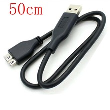 USB3.0 PC зарядное устройство+ кабель синхронизации данных для WD My Passport WDBACX7500ABL 50 см