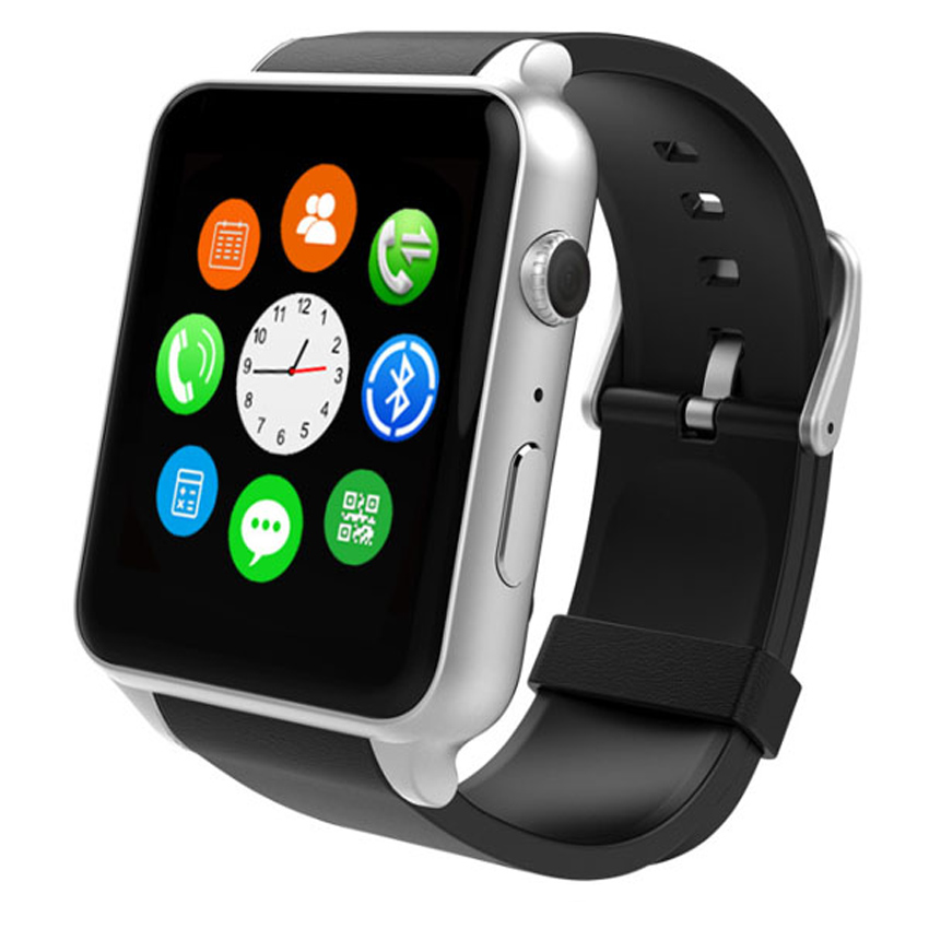 GT88 NFC font b smart b font watch Android IOS Smartwatch relogio phone Clock bluetooth font