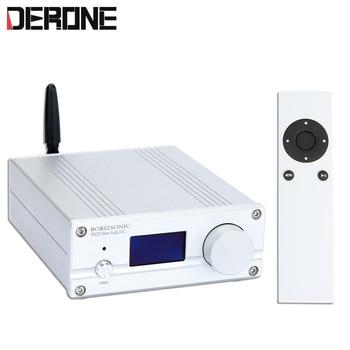 ES9038Q2M DAC USB bluetooth 5.0 XMOS XU208 ES9023 DSD256 32Bit/384 Khz entrada Coaxial Óptico decodificador frete grátis