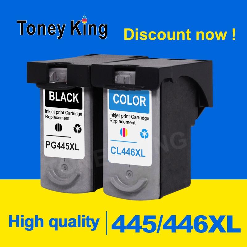 Toney King PG 445XL Ink Cartridge PG445XL CL446XL CL 446XL For Canon pixma MG2440 MG2540 MG2940