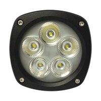 Productos de automóvil accesorios de coche lámpara de luz de trabajo luz LED 4 3 pulgadas 50 W aleación de aluminio LED6410 Lantsun