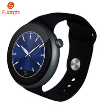 Fuloophi Smart Watch Dual Bluetooth 3.0/4.0 Smartwatch Heart Rate Monitor IP67 Waterproof Wristwatch For iOS Android Smartphones
