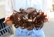 1pcs new arrival top quality 10 colors Synthetic Donut Hairpieces Bun Hair Chignon Hair Chignon Elastic Hair Rope Hair bun