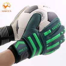 MAICCA Goalkeeper Gloves Soccer Professional Football Finger Protection Training Soft Thicken Latex