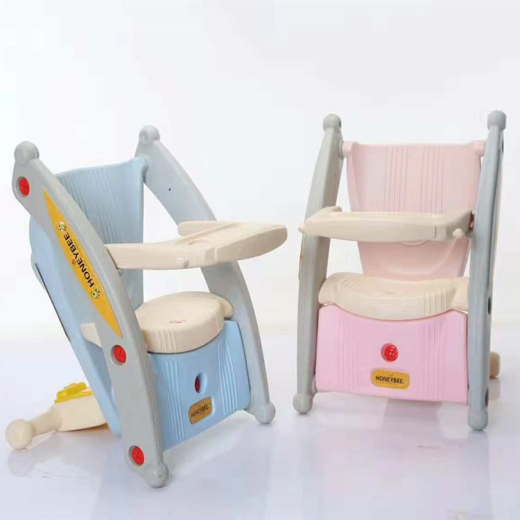 Children Shake Horse Dual Use Two In Combination With Music 1-3 Year Old Baby Seat Toy Baby Dining Chair