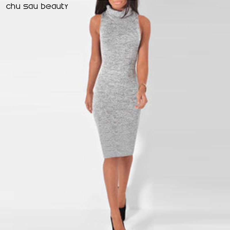 2018 Fashion Women Summer Dress Vintage Elegan Black Gray Wine Red Sleeveless Knitted Dresses Sexy Mini Tight Pencil Dress baishanglinna 2018 new spring and summer women dress black gray sleeveless knitted dresses sexy tight elastic dress party dress