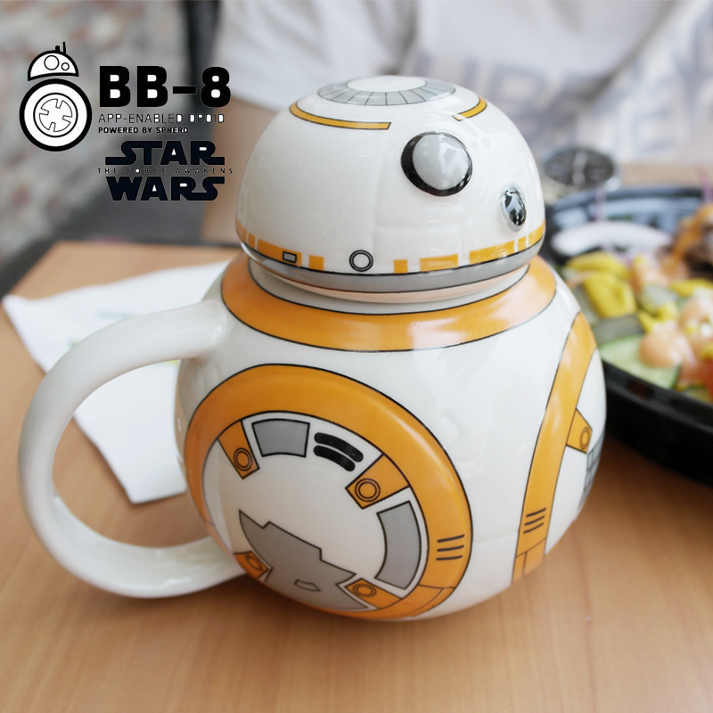 OnAlibaba Mug With Ceramic Robot Coffee Bb8 6star From Wars Cup Cover Cartoon Garden Us17 Mugs In Star Homeamp; Creative 8Pn0Owk