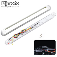 BJMOTO Car Styling 12V Led Universal Automobiles Tail Brake Stop Turn Signal Integrated Light For Truck