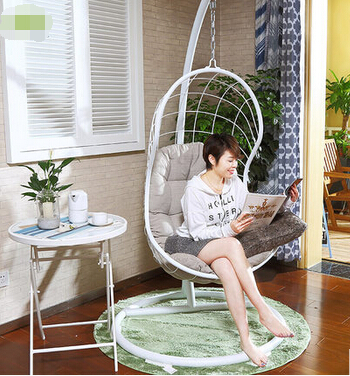 The bird's nest hanging basket. Cane. Swing. Lifting chair