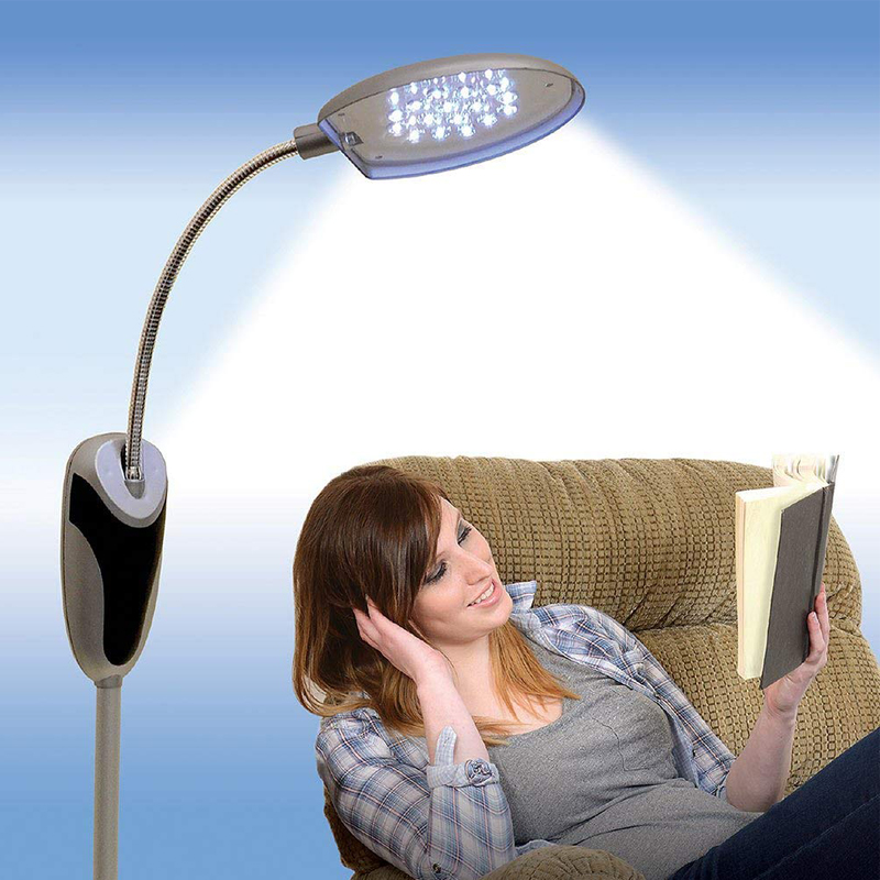 Cordless Floor Lamp Portable Battery-Operated LED Lighting Take It Anywhere Light As Seen on TV Reading Floor Lamp spa массажер as seen on tv sonic