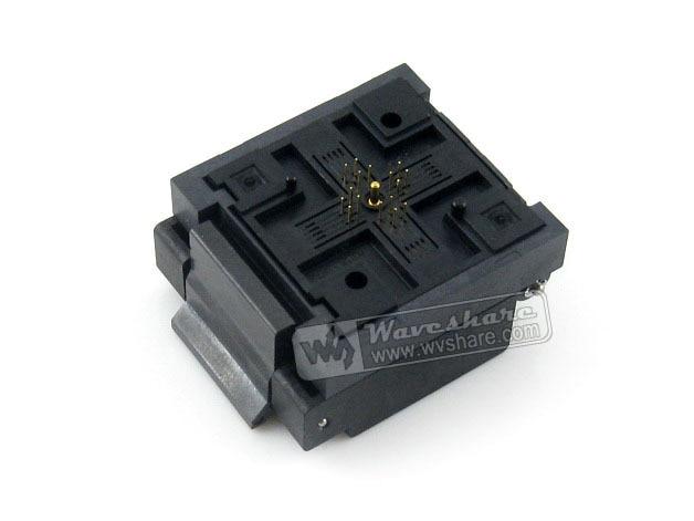 Enplas QFN-16BT-0.65-01, IC Test & Burn-in Socket, For QFN16, MLP16, MLF16 Package