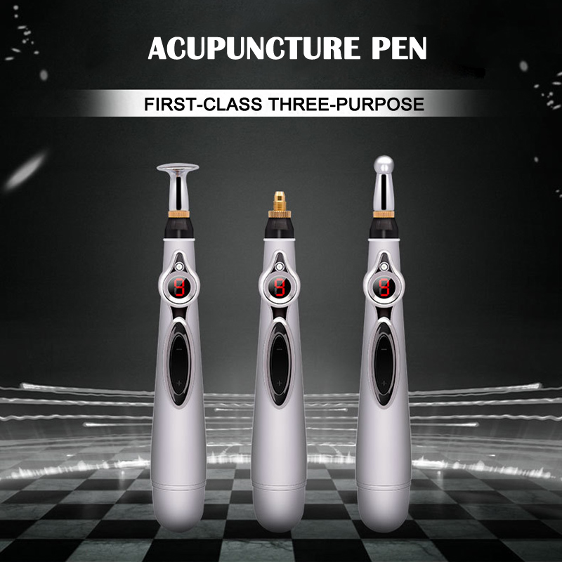 New Arrival Electric Acupuncture Magnet Therapy Heal Massage Pen Meridian Energy Pen