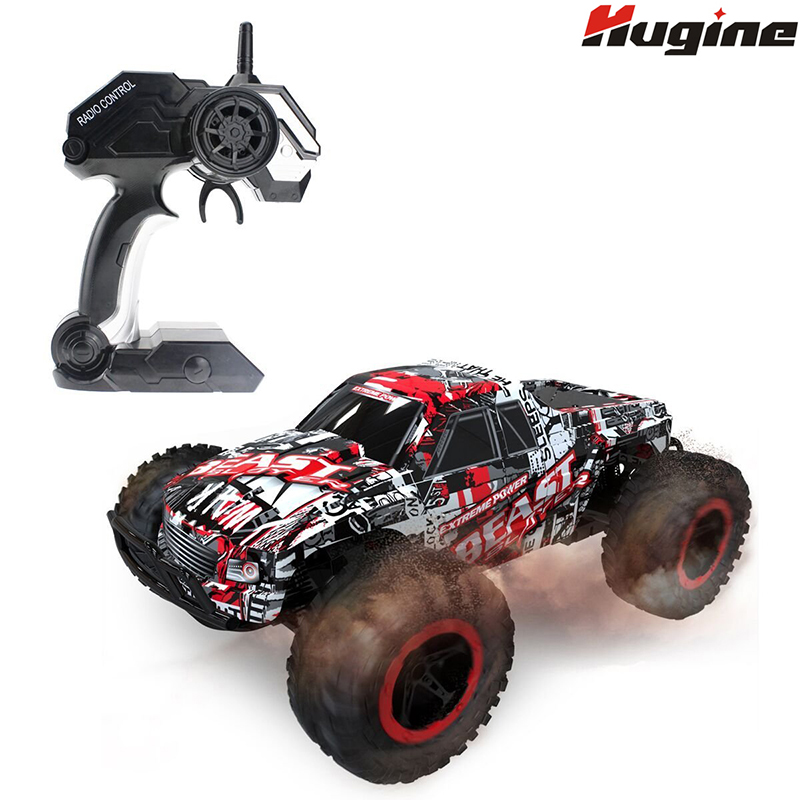 RC Car High Speed Racing Car Off Road Rock Crawlers Beast 1:16 2.4G 25km/h Model Vehicle Electronic Hobby Toys For Children Gift(China)