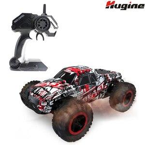 Радиоуправляемый автомобиль, высокоскоростной гоночный автомобиль, внедорожник, рок-ползунки, чудовище, 1:16, 2,4 г, 25 км/ч, модель автомобиля, э...