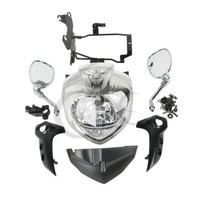 Motorcycle HEADLIGHT SET HEAD LIGHT ASSEMBLY FOR YAMAHA FZ6 FZ6N 2007 2010 2007 2008 2009 Motorcycle Accessories