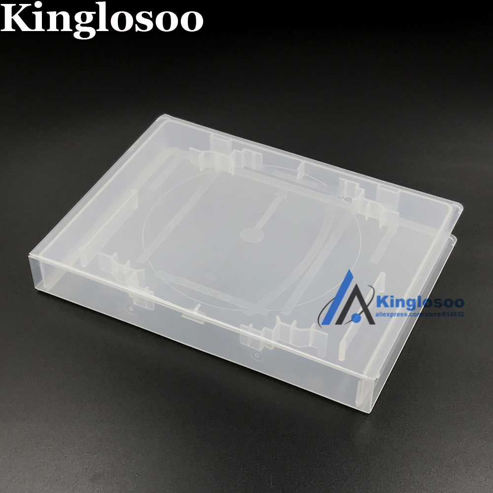 Top quality Protector Box CD DVD case cover for N64 SNES Game card Cartridge Storage box