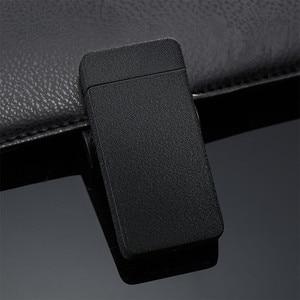 Image 4 - De Plasma USB Dual de arco, metálico encendedor recargable a prueba de viento mechero electrónico cigarrillo arco de doble pulso Cruz trueno Ligthers
