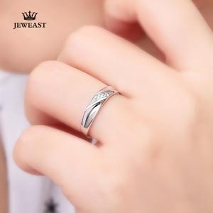 Image 3 - Pt950 ゴールド純金リングリアル Pt950 純金指輪グッド美しい高級流行の古典的なパーティーファインジュエリーホット販売新 2020