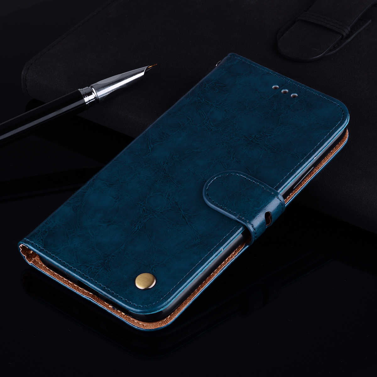 Luxury Wallet Case For Xiaomi Redmi Note 7 6 Pro Note5 Global Note 4 4x cover on redmi 7A 6A 5 Plus 4A 5A 6 Mi A2 lite 9T A1 S2