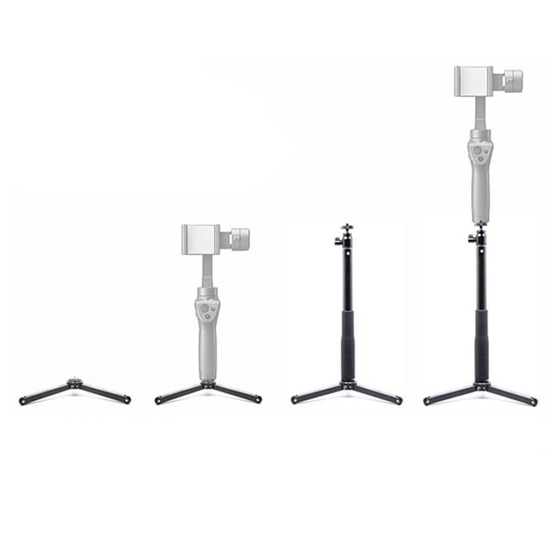 Tripod Extendable Monopod Stabilizer Photography stand Selfie Sticks For DJI Osmo Mobile 2 Handheld Gimbal camera accessories цены онлайн