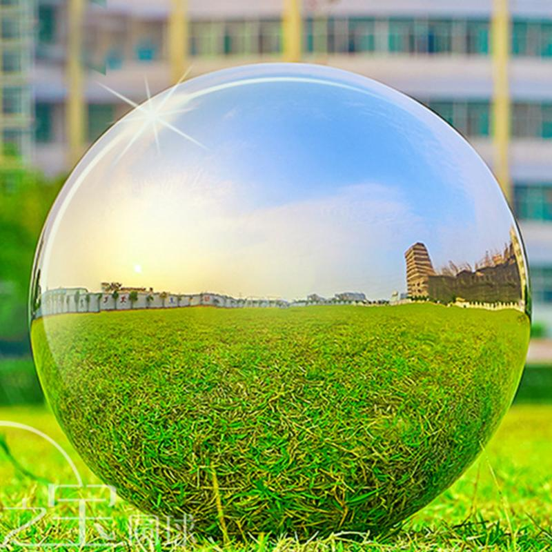 High Gloss Glitter Stainless Steel Ball Sphere Mirror Hollow Ball Home Garden Decoration Supplies Hotel Ornament 19mm~120mm