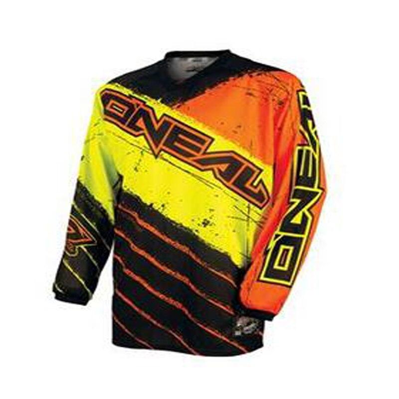 2018 long sleeve riding gear ATV bike racing Jersey best Top Clothing Coat Polyester Maillot Mtb Mx De Motocross Elite XS-XXXXXL