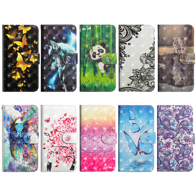 Leather Flip Wallet Case For Samsung Galaxy S20 Phone Case For Samsung S20 Ultra S10e S10 5G S9 S8 Plus Magnetic Flip Cover