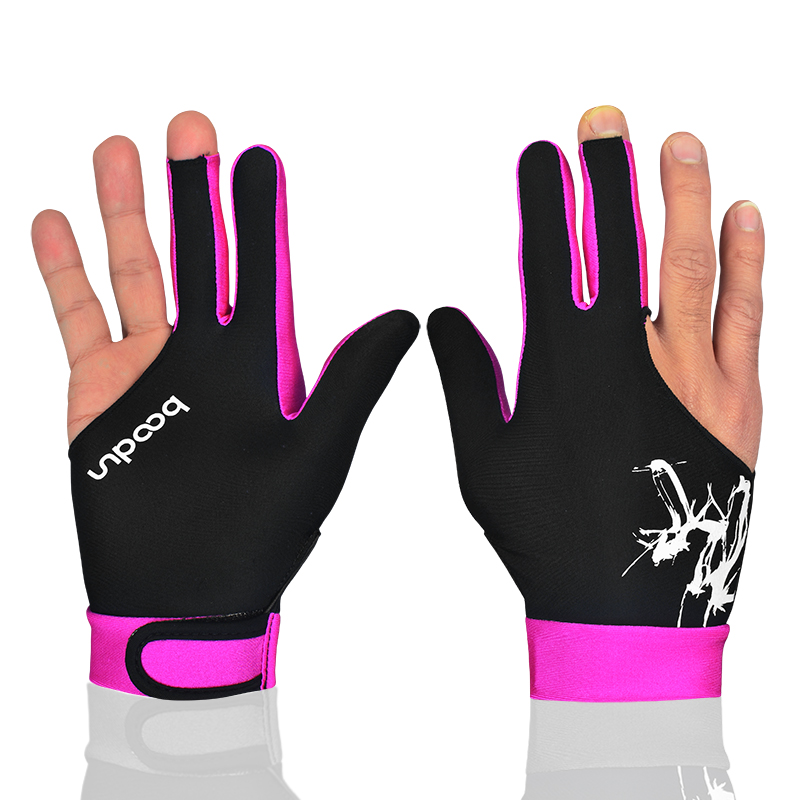 1PCS Breathable Billiard Pool Gloves Spandex Lycra Shooters Carom Snooker Cue 5 Colors Sports Gloves Fits on Left or Right Hand