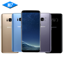2017 New Original Samsung Galaxy S8 Plus EU Version 6.2 inch 4GB RAM 64GB ROM Octa Core 2960×1440 12.0MP 4G LTE Mobile Phone