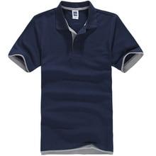 Новый 2016 мужская Марка Рубашки Поло Для Мужчин Дизайнер Поло Мужчин Хлопка С Коротким Рукавом рубашки Бренды майки golftennis Бесплатная доставка