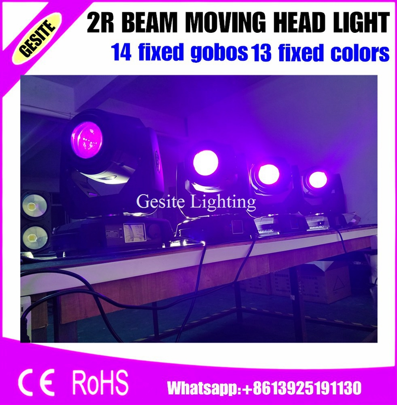 4pcs/lot professional sharpy white color 132w beam moving head light stage lighting