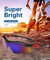 Coolsir Polarized Men Sunglasses Road Glasses Mountain Protection Goggles Eyewear uv400 free shipping with retail packaging