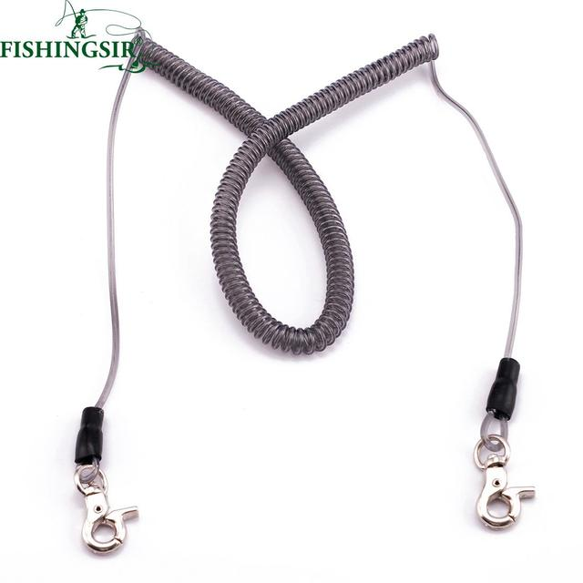 Super Strong Stainless Wire Fishing Lanyard Secure Retention Rope w ...