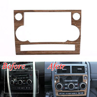 1pcs ABS Interior Center Console Frame Navigation Cover Trim Decorations Fit For Land Rover Discovery Sport
