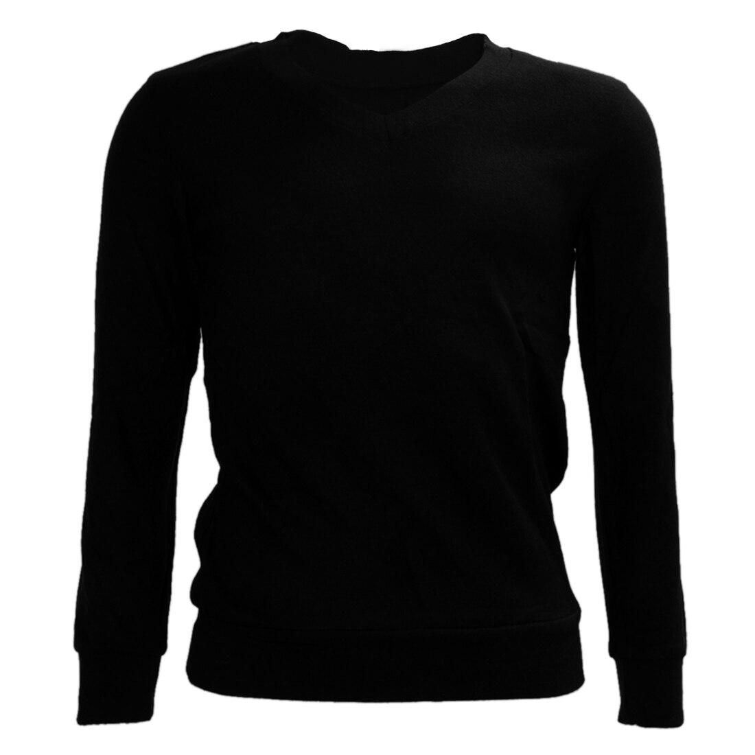 SAF Men V Neck Long sleeved Casual Fall Slim Fit Cashmere Sweater 3 COLORS