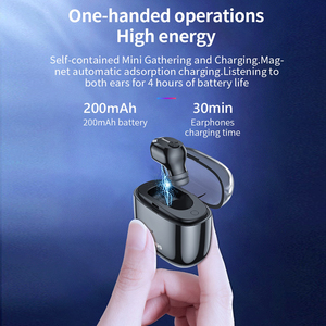 Image 3 - Baseus A03 Bluetooth Earphone Wireless Bluetooth 5.0 Headset With Stereo Mic Handfree Earphones for iPhone Samsung Xiaomi