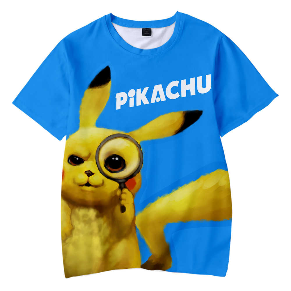 e1c13c39 ... BTS Pokemon Detective Pikachu 3D Printed Children T-shirt Fashion  Summer Short Sleeve T shirt ...