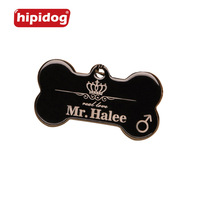 Personalized Engraving Text Dog Tag