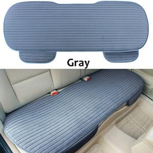 Image 4 - Автомобильные чехлы на заднее сиденье, зимние защитные чехлы на заднее сиденье, универсальный размер, чехлы для сидений автомобиля