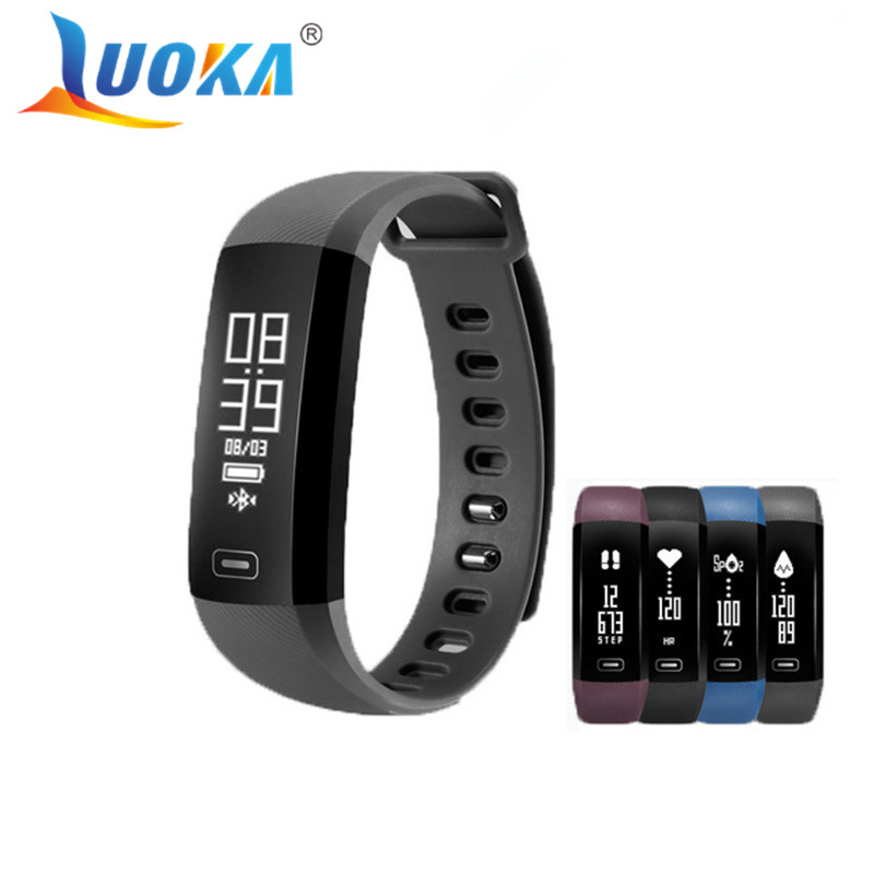 Smart Band LUOKA M2 Heartrate Blood Pressure Oxygen Oximeter Sport Bracelet Clock Watch Inteligente Pulso For iOS Android Men a group agent architecture based on fipa and ontology
