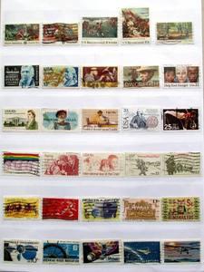 "Image 3 - בולי דואר משמש האמריקאי ארה""ב 300 יחידות כל שונה את נייר במצב טוב עבור איסוף כל מאתנו"