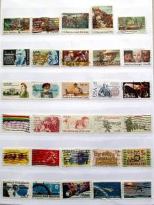 Image 3 - American USA 300 PCS All Different Used Postage Stamps Off Paper In Good Condition For Collecting All From US