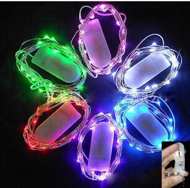 wholesale top sale 3 3ft mini 10 led string light button cell